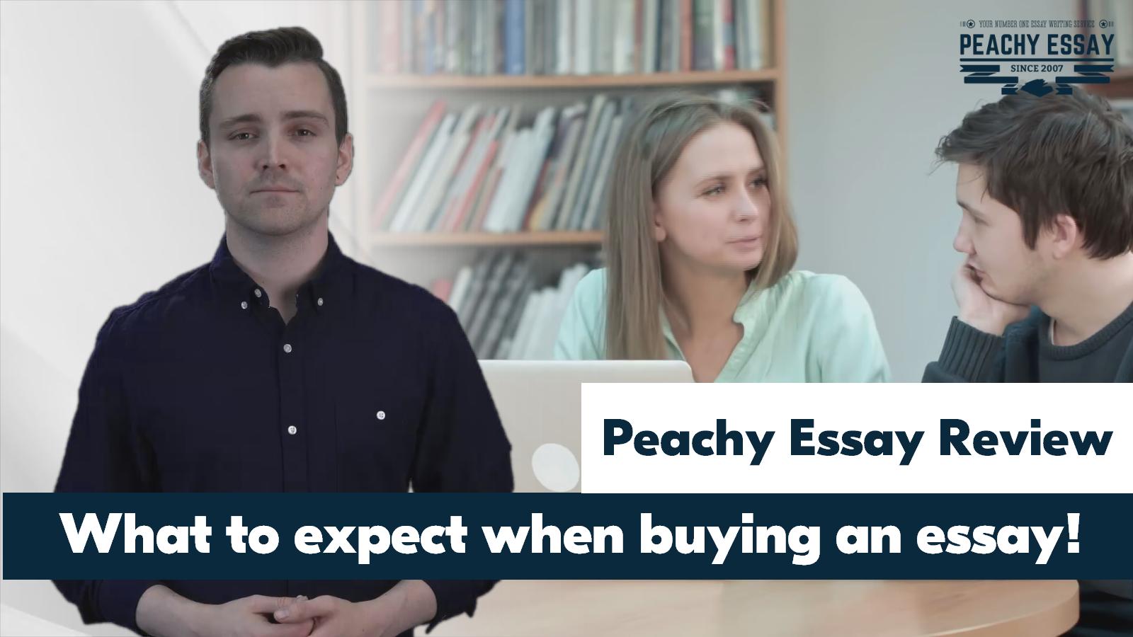 PeachyEssay.com Review - Peachy Essay Reviews - Academic Help