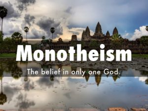 The Only God of Monotheism