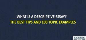 What is Descriptive ssay