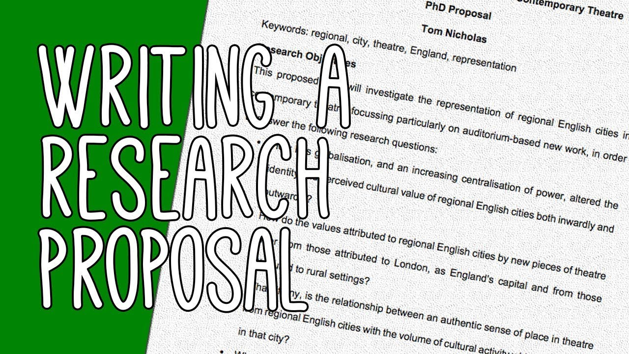 Phd research proposal english literature