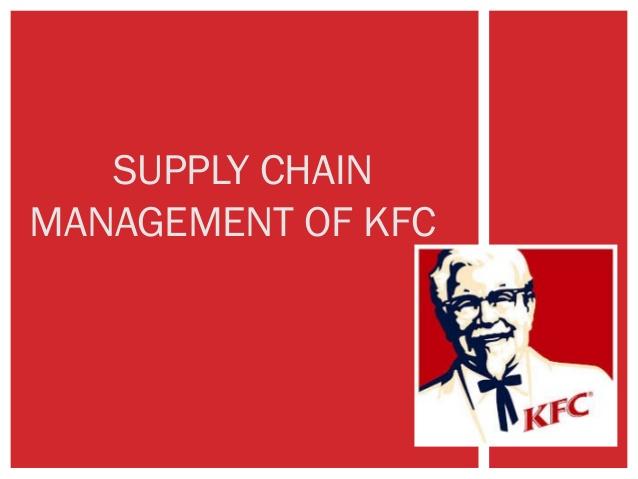 Supply Chain Management KFC - Kentucky Fried Chicken Case Study