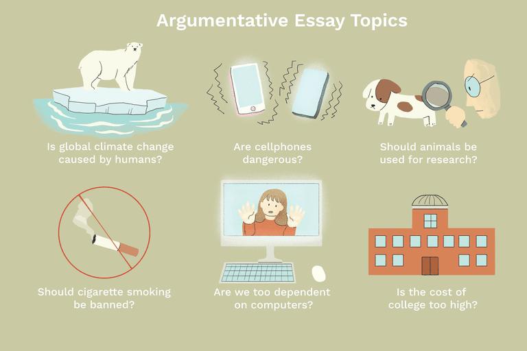 100 Outstanding Argumentative Essay Topics
