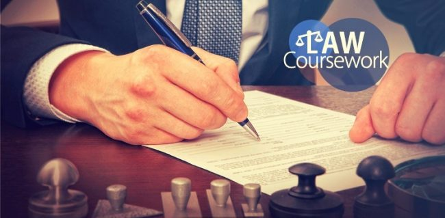Law Coursework Writing Services