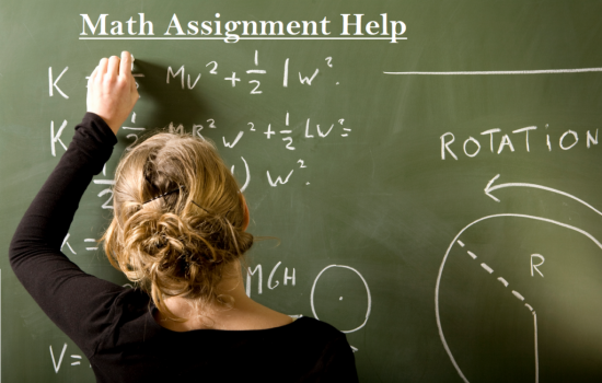 Mathematics Assignment Writing Services