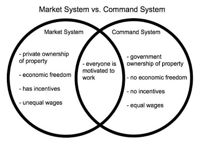 Pure Market and Planned Economic Systems; Comparative Analysis