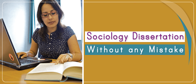Sociology Dissertation Writing Services