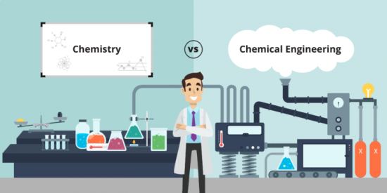 The Difference between Chemistry and Chemical Engineering