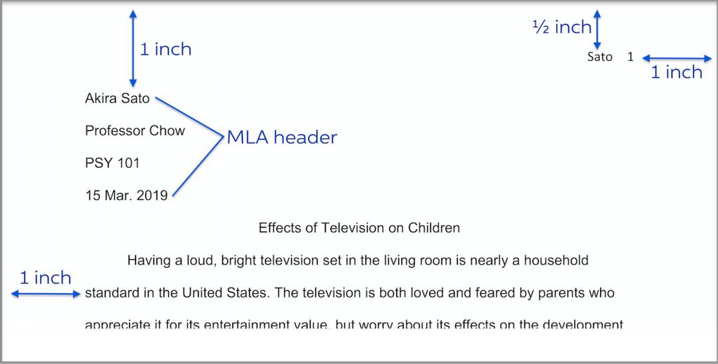 write research mla paper