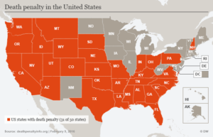 Status of Death Penalty in the USA