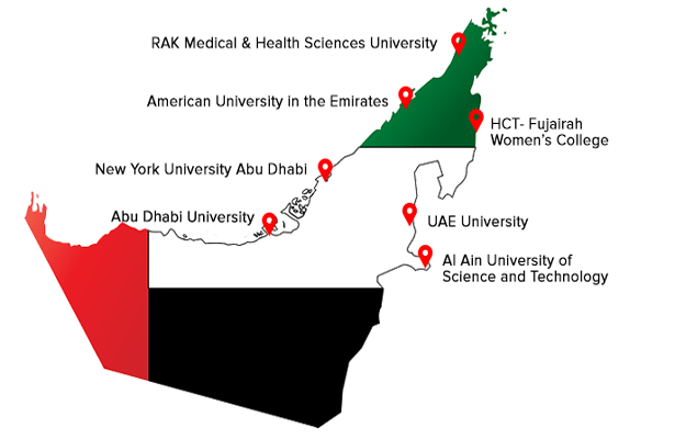 We have helped students from all over UAE universities