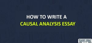 How to Write Causal Analysis Essay