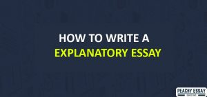 How to Write Explanatory Essay