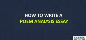 How to Write Poem Analysis Essay