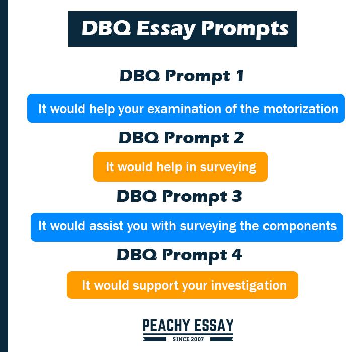 DBQ Essay Prompts