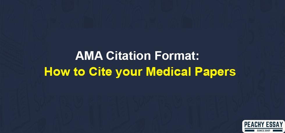 AMA Citation Format