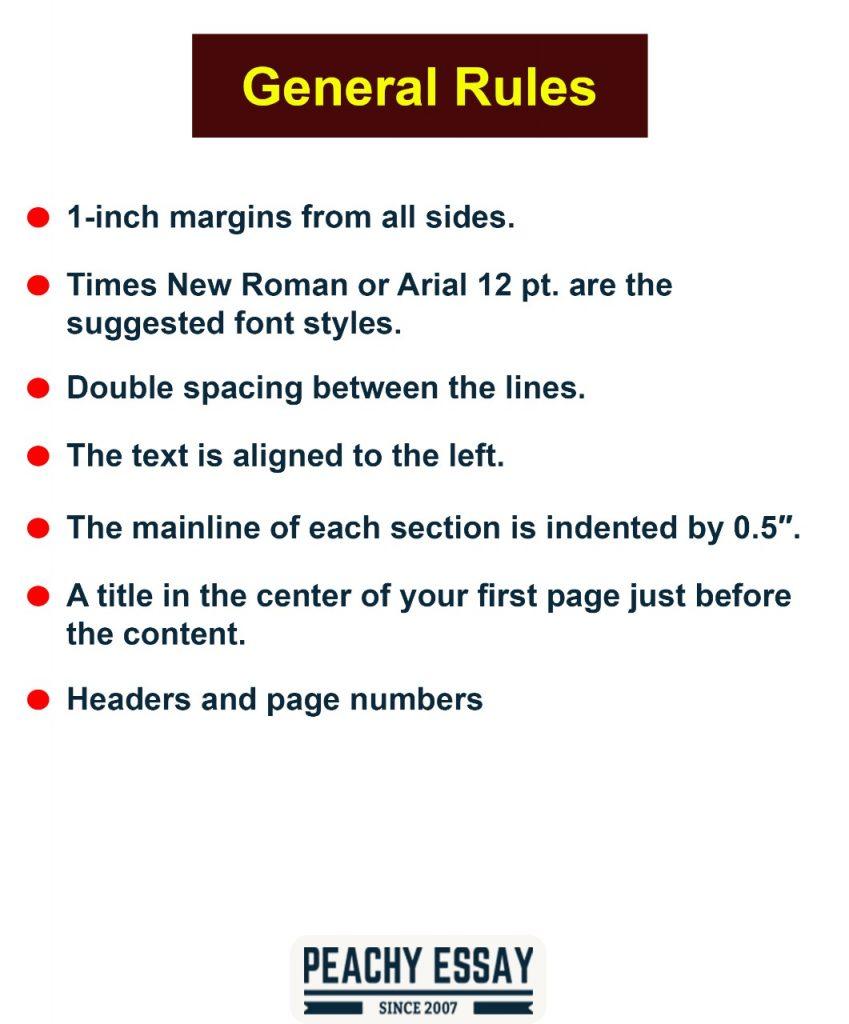 Harvard Citation General Rules