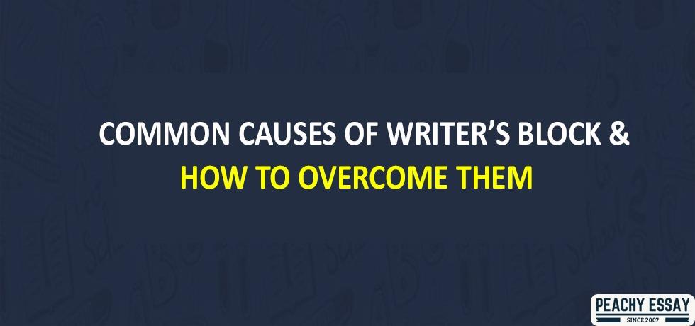 Causes of Writers block