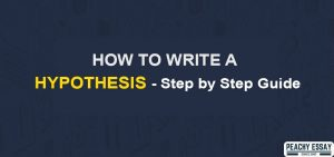 How to Write Hypothesis