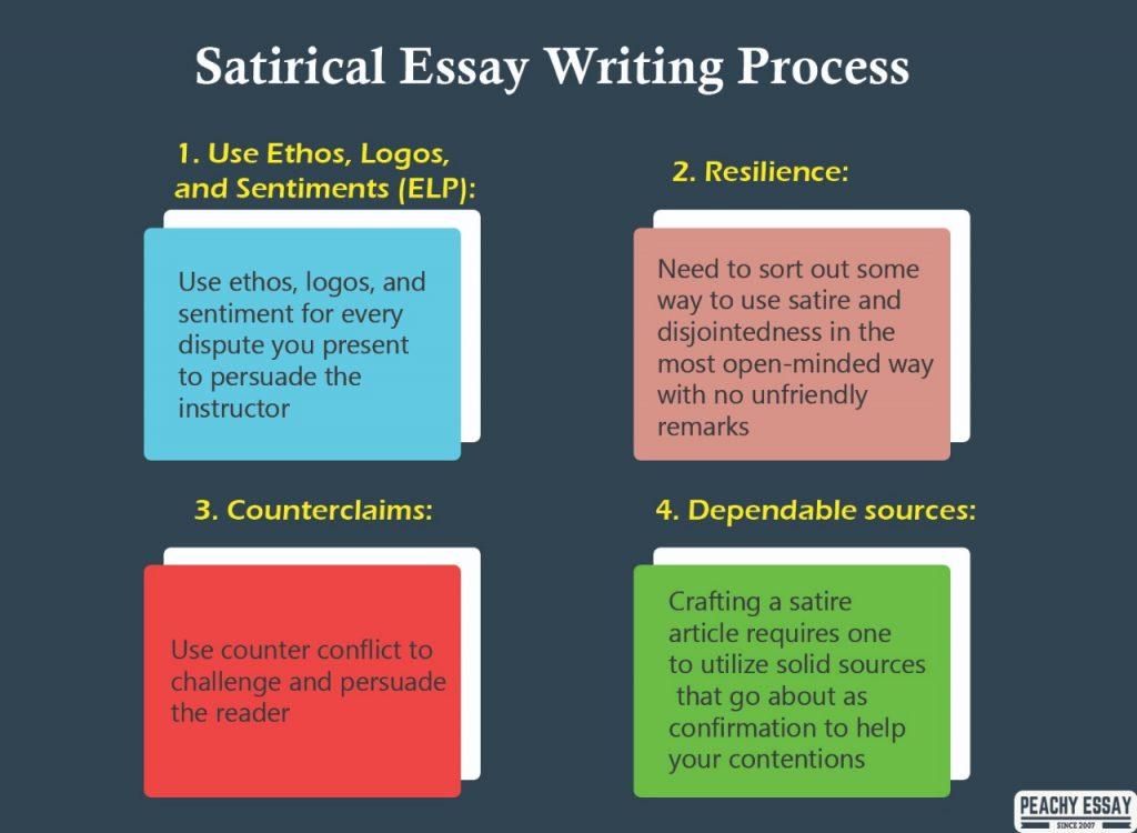 Satirical Essay Writing Process