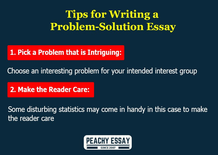 Tips for Writing Problem Solution Essay