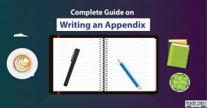 Guide to Write Appendix