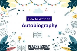 How to write autobiography