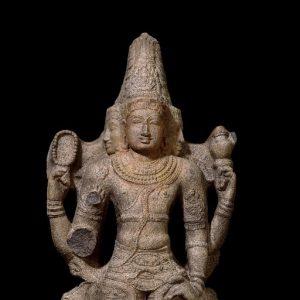 Stone Figure of Brahma