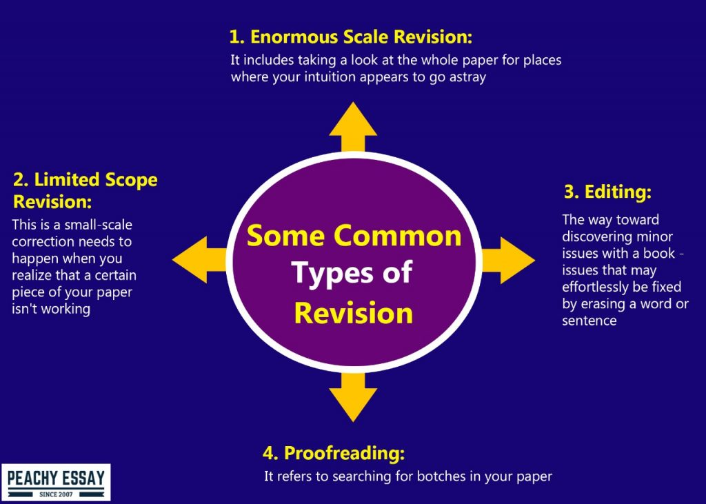 common types of revision