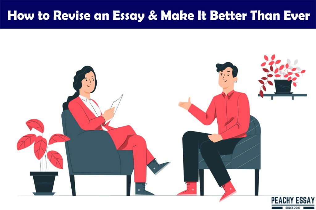 how to revise essay