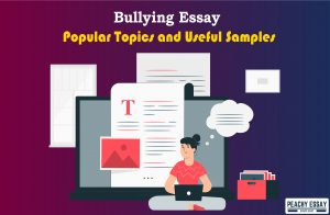 how to write bullying essay