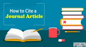 how to cite journal article
