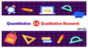 quantiative vs qualitative research